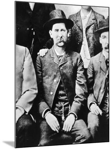 Wyatt Earp (1848-1929)--Mounted Giclee Print