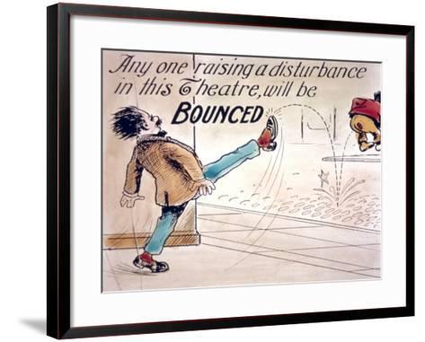 Intermission Slide--Framed Art Print