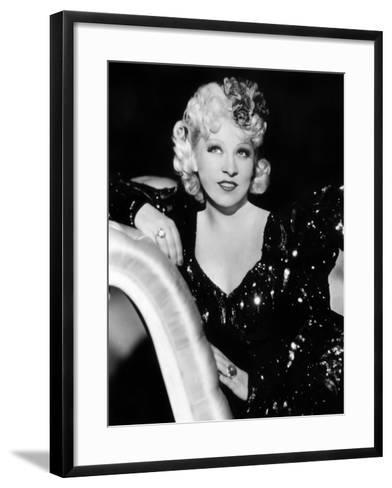 Mae West (1892-1980)--Framed Art Print