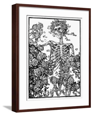 Omar Khayam: Rubaiyat-Edmund J^ Sullivan-Framed Art Print