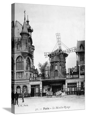 Paris: Moulin Rouge, c1900--Stretched Canvas Print