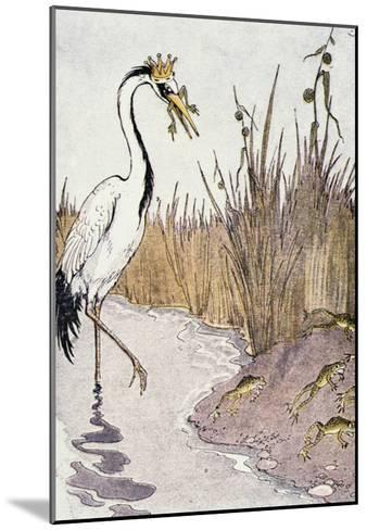 Aesop: Frogs Wish for King-Milo Winter-Mounted Giclee Print