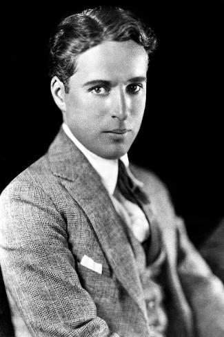 Charles Spencer Chaplin (1889-1977), English Actor and Comedian--Stretched Canvas Print