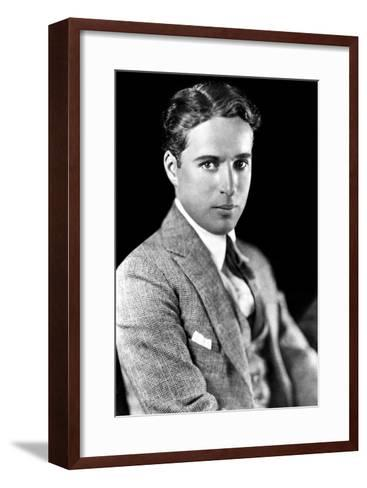 Charles Spencer Chaplin (1889-1977), English Actor and Comedian--Framed Art Print