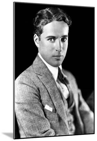 Charles Spencer Chaplin (1889-1977), English Actor and Comedian--Mounted Giclee Print