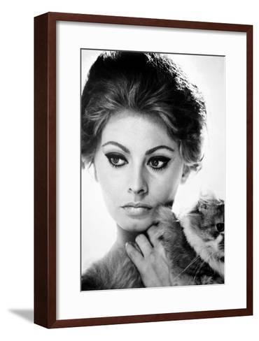 Sophia Loren (1934-)--Framed Art Print