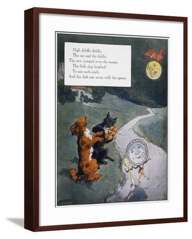 High Diddle Diddle-Frederick Richardson-Framed Art Print