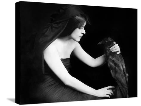 Theda Bara (1885-1955)--Stretched Canvas Print