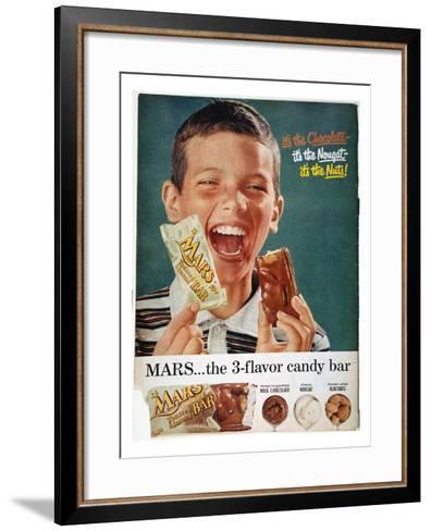 Mars Bar Ad, 1957--Framed Art Print