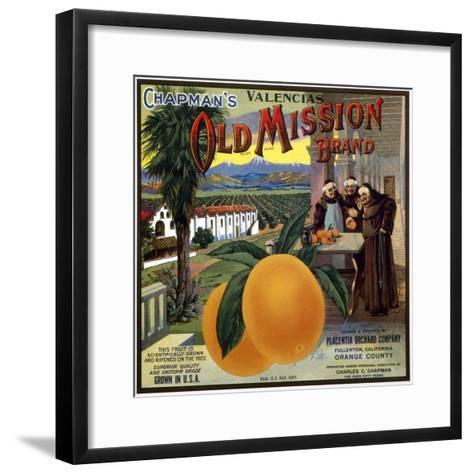 Crate Label, 20th Century--Framed Art Print