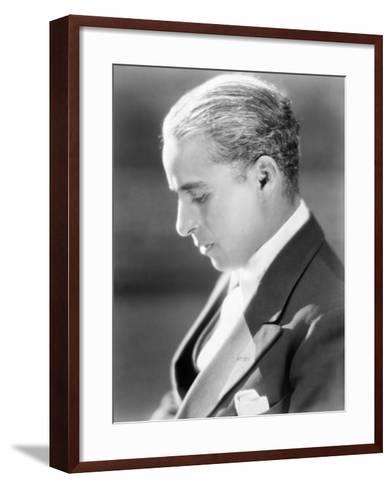 Charles Spencer Chaplin (1889-1977)--Framed Art Print