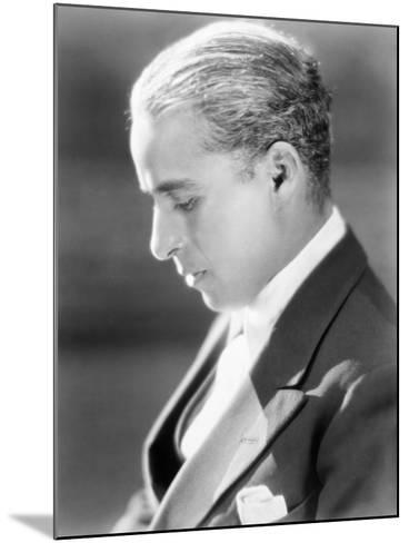 Charles Spencer Chaplin (1889-1977)--Mounted Giclee Print