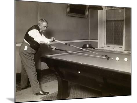 Billiard Player, c1907--Mounted Giclee Print