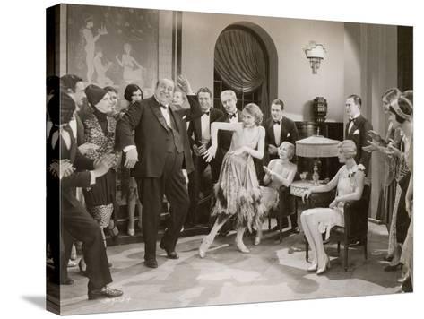 Dance: Charleston, 1920s--Stretched Canvas Print