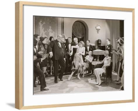 Dance: Charleston, 1920s--Framed Art Print