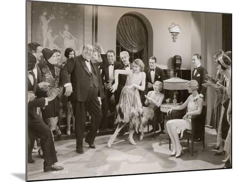Dance: Charleston, 1920s--Mounted Giclee Print