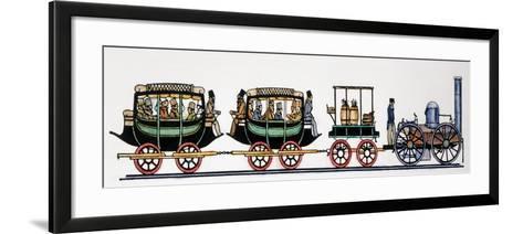 Locomotive, 1831--Framed Art Print
