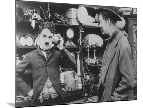 Chaplin: 'The Pawnshop'--Mounted Giclee Print