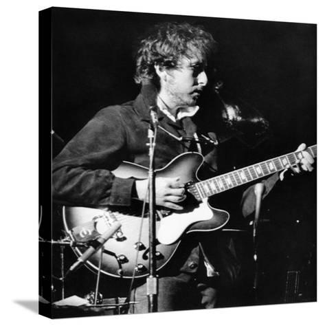 Bob Dylan (1941-)--Stretched Canvas Print