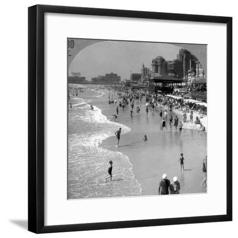 Atlantic City, 1920s--Framed Art Print