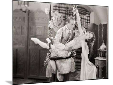 Silent Film Still: Couples--Mounted Giclee Print
