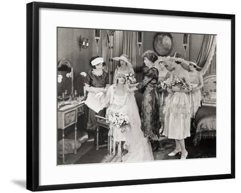 The Power Within, 1921--Framed Art Print