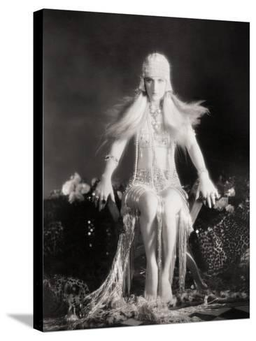 Silent Film Still: Costume--Stretched Canvas Print