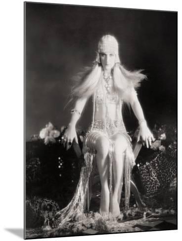 Silent Film Still: Costume--Mounted Giclee Print