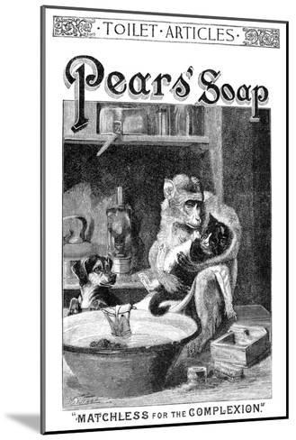 Pears' Soap Ad, 1888--Mounted Giclee Print