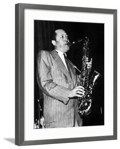 Lester Young (1909-1959)--Framed Art Print