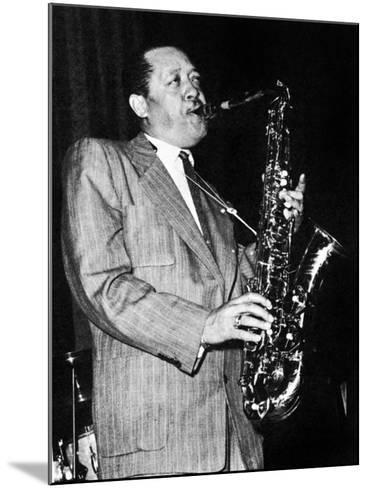 Lester Young (1909-1959)--Mounted Giclee Print