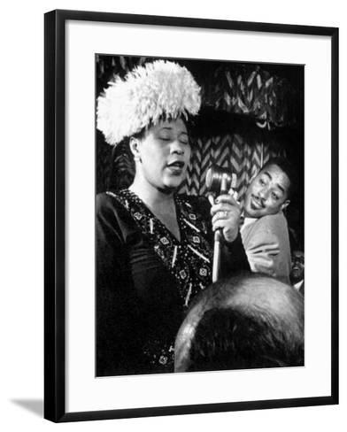 Ella Fitzgerald (1917-1996)--Framed Art Print