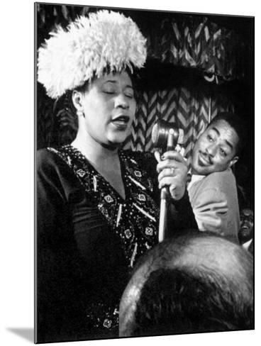 Ella Fitzgerald (1917-1996)--Mounted Giclee Print