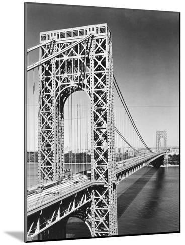 George Washington Bridge--Mounted Giclee Print