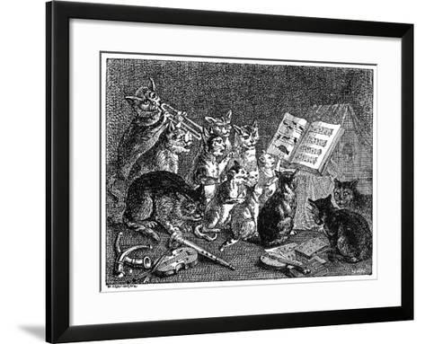 Breughel: Concert of Cats--Framed Art Print