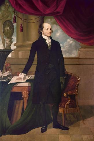 John Jay (1745-1829)--Stretched Canvas Print