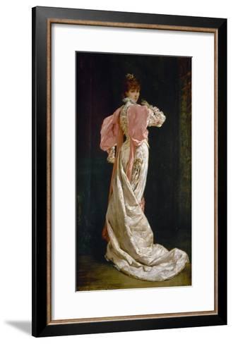 Sarah Bernhardt (1844-1923)-Georges Clairin-Framed Art Print