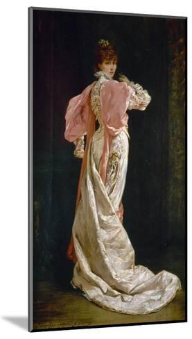 Sarah Bernhardt (1844-1923)-Georges Clairin-Mounted Giclee Print