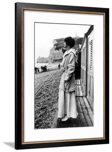 Gabrielle 'Coco' Chanel--Framed Art Print