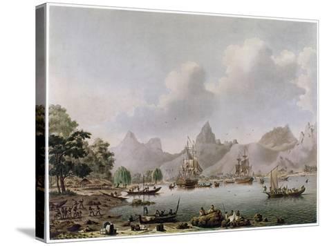 Darwin: HMS Beagle--Stretched Canvas Print