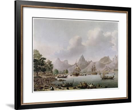 Darwin: HMS Beagle--Framed Art Print