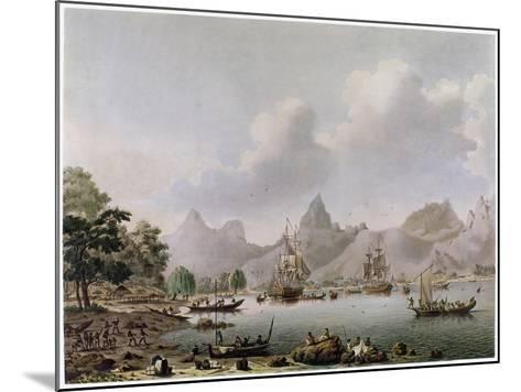 Darwin: HMS Beagle--Mounted Giclee Print
