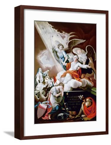 George Washington-John James Barralet-Framed Art Print