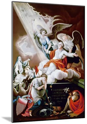 George Washington-John James Barralet-Mounted Giclee Print