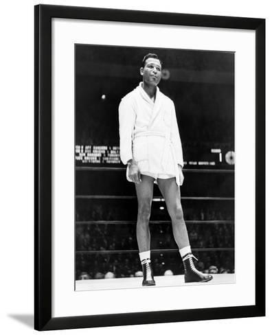 Sugar Ray Robinson--Framed Art Print