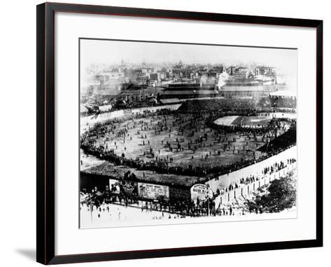 World Series, 1903--Framed Art Print