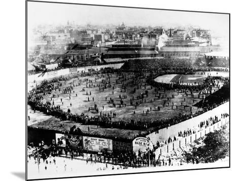 World Series, 1903--Mounted Giclee Print