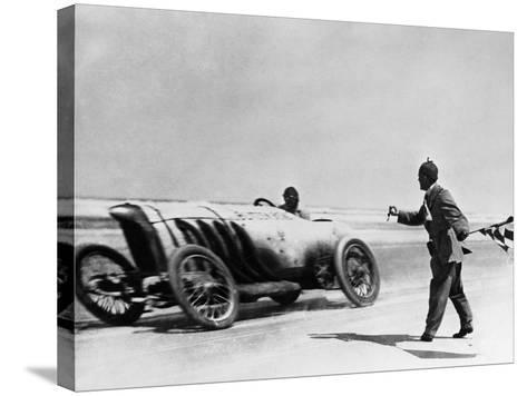 Auto Racing, 1910--Stretched Canvas Print