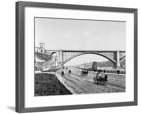 Harlem River, c1901--Framed Art Print