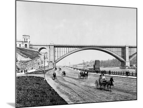 Harlem River, c1901--Mounted Giclee Print